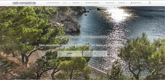 Web-Complett Wordpress Blog